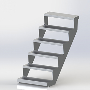 Kwikstage Stretcher Stair Aluminum